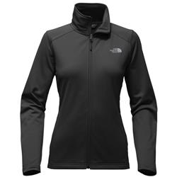 The North Face Tech Mezzaluna Full Zip - Womens-TNF Black