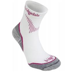 Bridgedale Qw-ik Coolfusion Run Socks - Womens-Dusky Pink