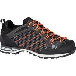 HanWag Makra Low GTX - Mens-Asphalt / Orange