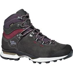 HanWag Tatra Light Lady GTX - Womens-Asphalt / Dark Garnet