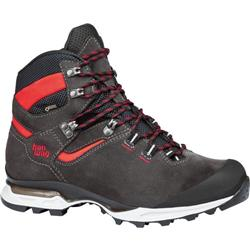 HanWag Tatra Light GTX - Mens-Asphalt / Red
