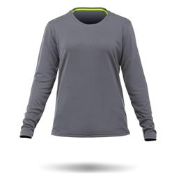 Zhik ZhikDry LT LS Top - Womens-Grey