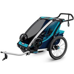 Thule Chariot Cross 2 + Cycle/Stroll-Blue
