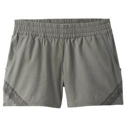"Prana Hermione Short, 4"" Inseam - Womens-Green Jasper"