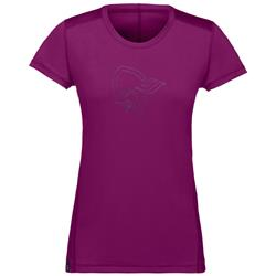 Norrona /29 Tech T-Shirt - Womens-Dark Purple