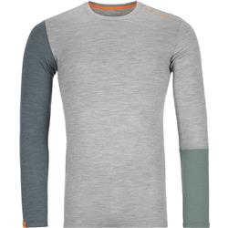 Ortovox 185 Rock`N`Wool LS - Mens-Grey Blend