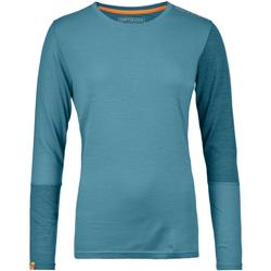 Ortovox 185 Rock`N`Wool LS - Womens-Aqua