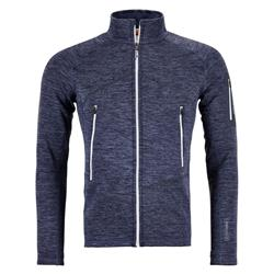 Ortovox Fleece Light Melange Jacket - Mens-Night Blue