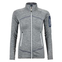 Ortovox Fleece Light Melange Jacket - Womens-Grey Blend
