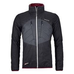 Ortovox Swisswool Dufour Jacket - Mens-Black Raven