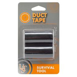 Ultimate Survival Technologies Duct Tape - Black-Not Applicable