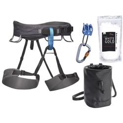 Black Diamond Momentum Harness Package - Mens-Slate