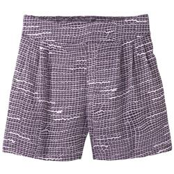 "Prana Tessie Short, 4"" Inseam - Womens-Purple Thatch"