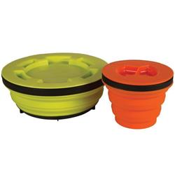 Sea To Summit X-Seal and Go Set - S - S & L-Lime Green