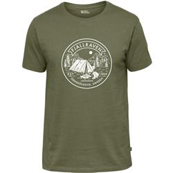 Fjallraven Lagerplats T-Shirt - Mens-Green