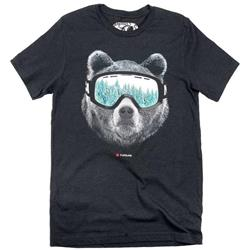 Westcoastees Ski Bear T-Shirt - Unisex-Not Applicable