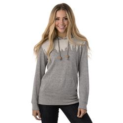 tentree Juniper Fleece Hoodie - Womens-Lunar Rock