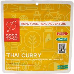 Thai Style Curry - Gluten Free / Pescatarian - Double Serving