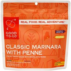 Good To Go Classic Marinara with Penne - Gluten Free / Vegan - Double Serving-Not Applicable