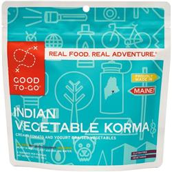 Good To Go Indian Style Vegetable Korma - Double Serving-Not Applicable