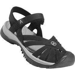 Keen Rose Sandal - Womens-Black / Neutral Gray
