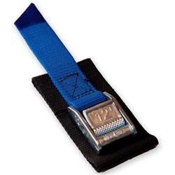 12` Cam Strap with Buckle & Guard - Canoes - Blue