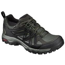 Salomon Evasion 2 GTX - Mens-Castor Gray / Black / Chive