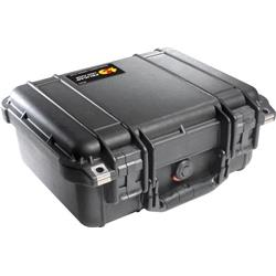 Pelican Products 1400 Small Case With Foam-Black