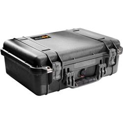 Pelican Products 1500 Medium Case With Foam-Black