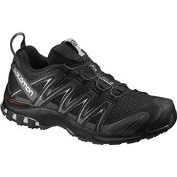 Salomon XA Pro 3D Wide - Mens-Black / Magnet / Quiet Shade
