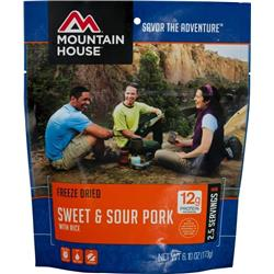 Mountain House Sweet & Sour Pork with Rice-Not Applicable