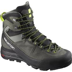 Salomon X Alp Mtn GTX - Mens-Black / Beluga / Lime Punch