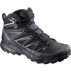 Salomon X Ultra 3 Mid GTX - Mens-Black / India Ink / Monument