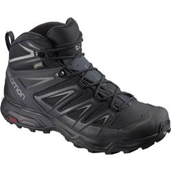 Salomon X Ultra 3 Mid GTX Wide - Mens-Black / India Ink / Monument