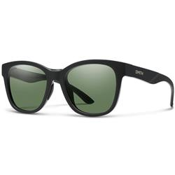 Smith Optics Caper, Matte Black Frame, Chromapop Polarized Gray Green Lens-Not Applicable