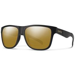 Smith Optics Lowdown XL, Matte Black Frame, Polarized Bronze Mirror / Chromapop Polarized Lens-Not Applicable