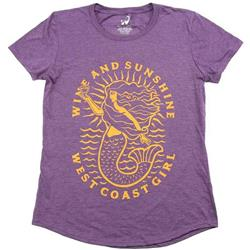 Westcoastees Wine and Sunshine SS - Womens-Not Applicable
