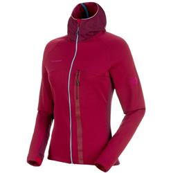 Mammut Aconcagua Pro ML Hooded Jacket - Womens-Beet / Beet Melange