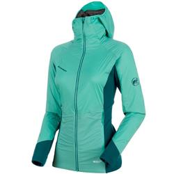 Mammut Aenergy IN Hooded Jacket - Womens-Atoll / Teal / Atoll