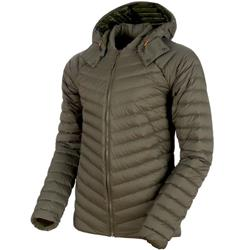 Mammut Alvra Light IN Hooded Jacket - Mens-Iguana