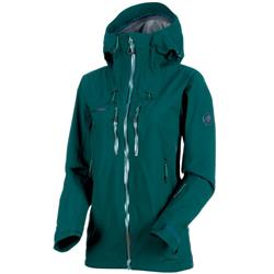 Mammut Alyeska HS Hooded Jacket - Womens-Teal
