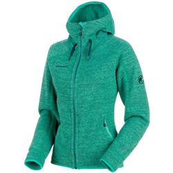 Mammut Arctic ML Hooded Jacket - Womens-Atoll / Teal Melange