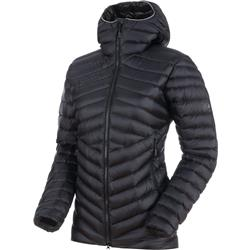 Mammut Broad Peak IN Hooded Jacket - Womens-Black / Phantom