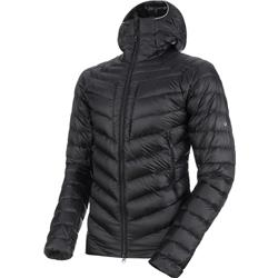 Mammut Broad Peak IN Hooded Jacket - Mens-Black / Phantom
