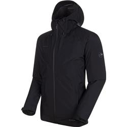 Mammut Convey 3 in 1 HS Hooded Jacket - Mens-Black / Black