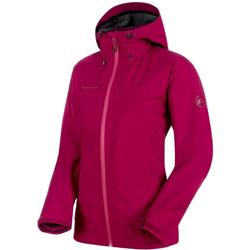Mammut Convey 3 in 1 HS Hooded Jacket - Womens-Beet / Grape