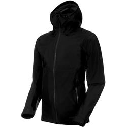 Mammut Convey Tour HS Hooded Jacket - Mens-Black
