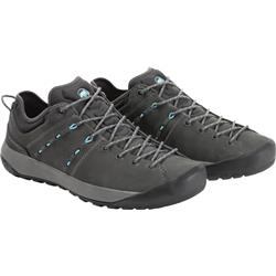 Mammut Hueco Low Leather - Womens-Graphite / Whisper