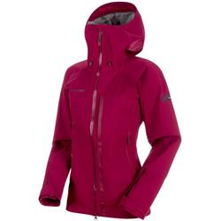 Mammut Masao HS Hooded Jacket - Womens-Beet
