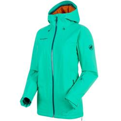 Mammut Nara HS Thermo Hooded Jacket - Womens-Atoll